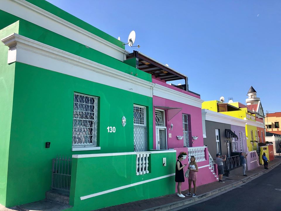 The colourful Bo-Kaap in Cape Town